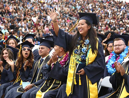 Students celebrate at 103rd Fullerton College commencement ceremony