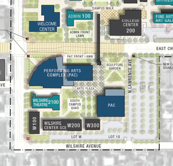 Nocccd Anaheim Campus Map.Projects Fullerton College