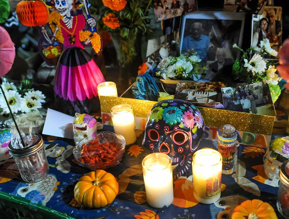 Dia de los Muertos event has students create Altars to commemorate loved ones