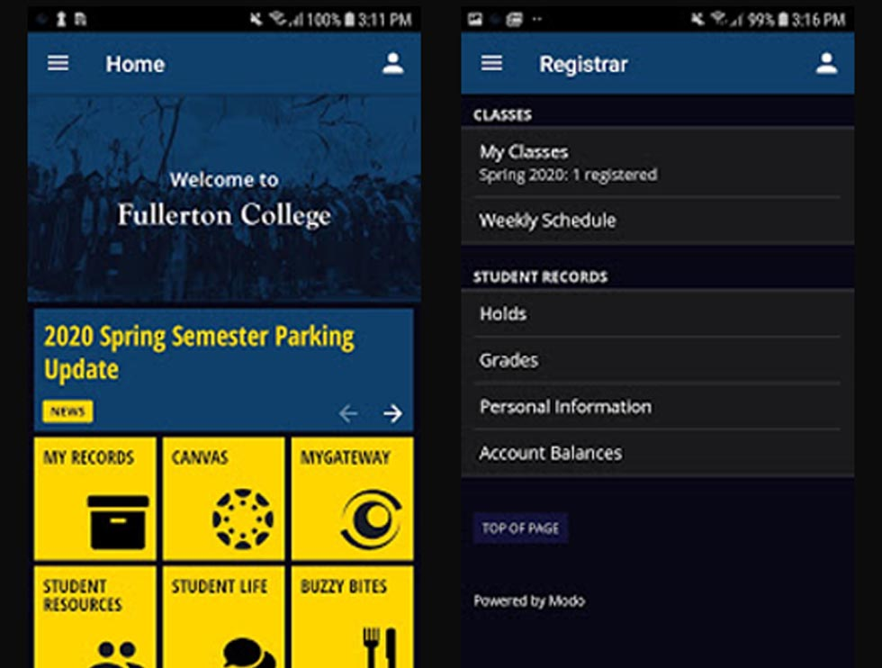 Fullerton College Launches New App
