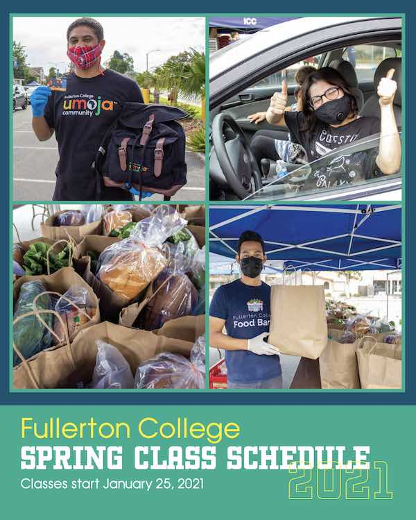 Spring Class Schedule Cover